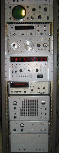 Test Equipment Racks : Frequency and time rack